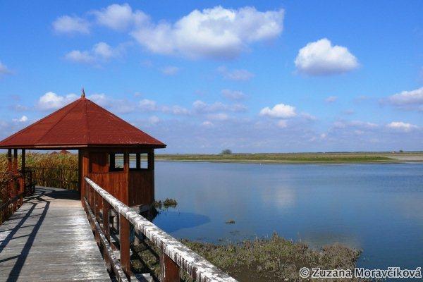 Pozorovateľňa na rybníkoch Halastó