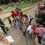 also the youngest are interested in birdwatching / záujem o poznávanie vtákov prejavili aj najmenší