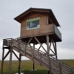watchtower for Great bustard observation / pozorovacia veža na pozorovanie dropa veľkého